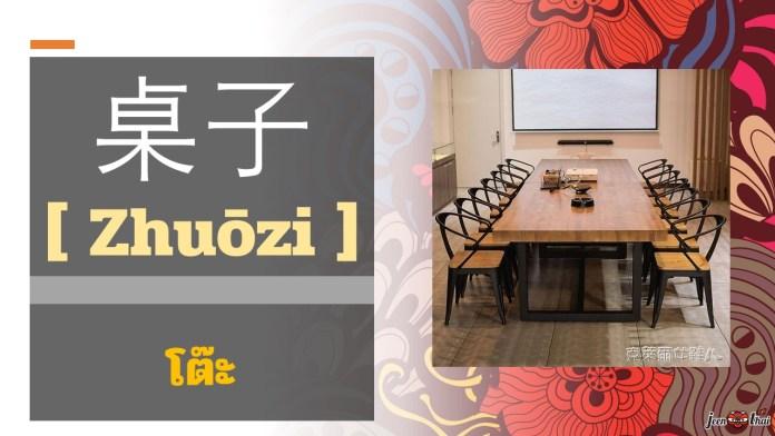 ห้องรับแขกภาษาจีน