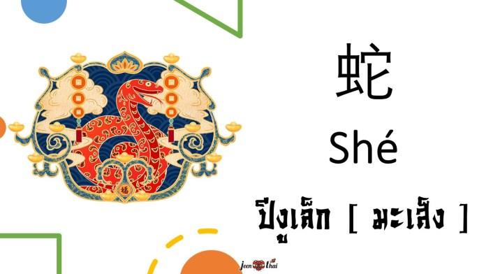 12 นักษัตรภาษาจีน