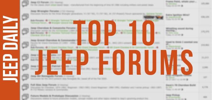 jeep forums