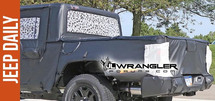 Jeep Scrambler truck bed