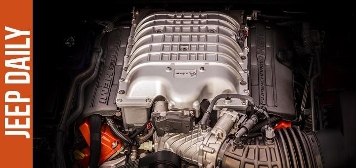 supercharged hemi motor