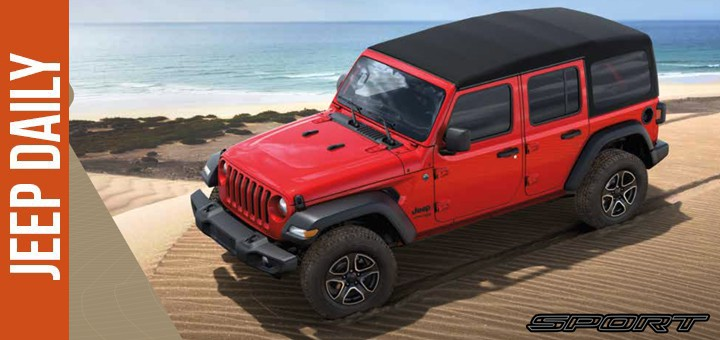 2018 Jeep Wrangler Jl Brochure Jeep Daily Jeep News