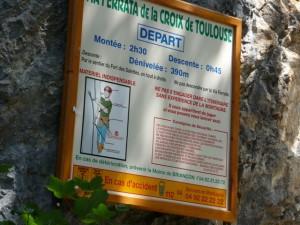 Via Ferrata de la Croix de Toulouse