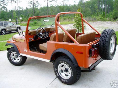77 Jeep CJ 7 Renegade Levis Edition