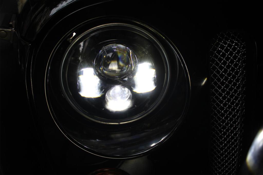 Lifetime LED 7in Round LED Headlight 4 Lens Jeep JK