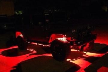 VISION X TANTRUM LED ROCK LIGHT - RED