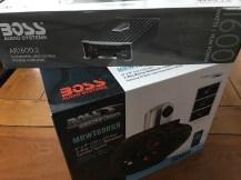 Boss Audio Marine Waketower Speaker System & AR1600 AMP