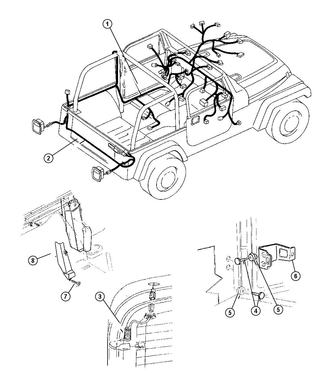 tags: #1992 jeep wrangler wiring diagram#99 jeep wrangler wiring diagram#jeep  wrangler parts and wiring diagrams#1990 jeep wrangler wiring diagram#2004  jeep