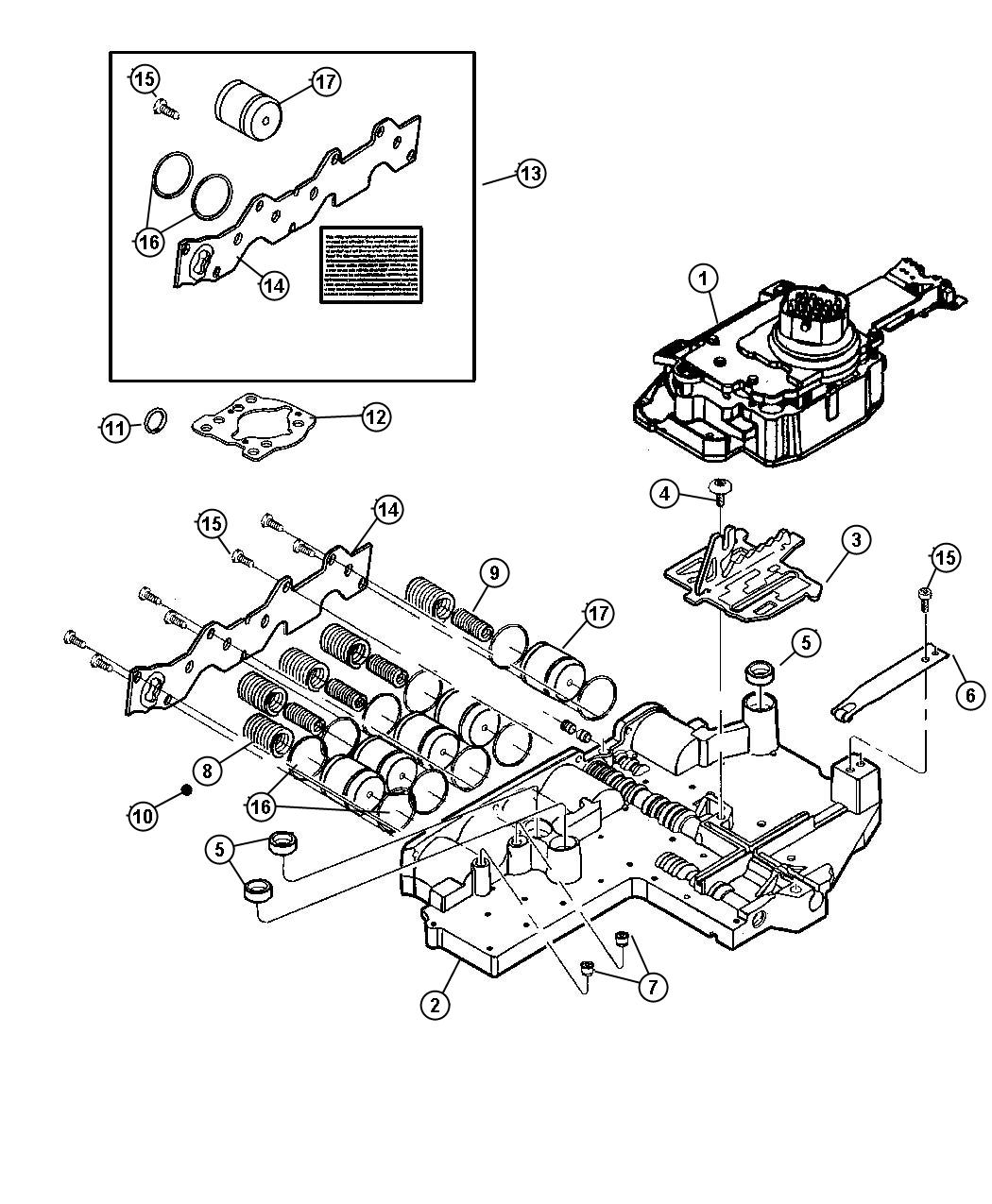 Jeep Cherokee Accumulator Kit Accumulator Cover