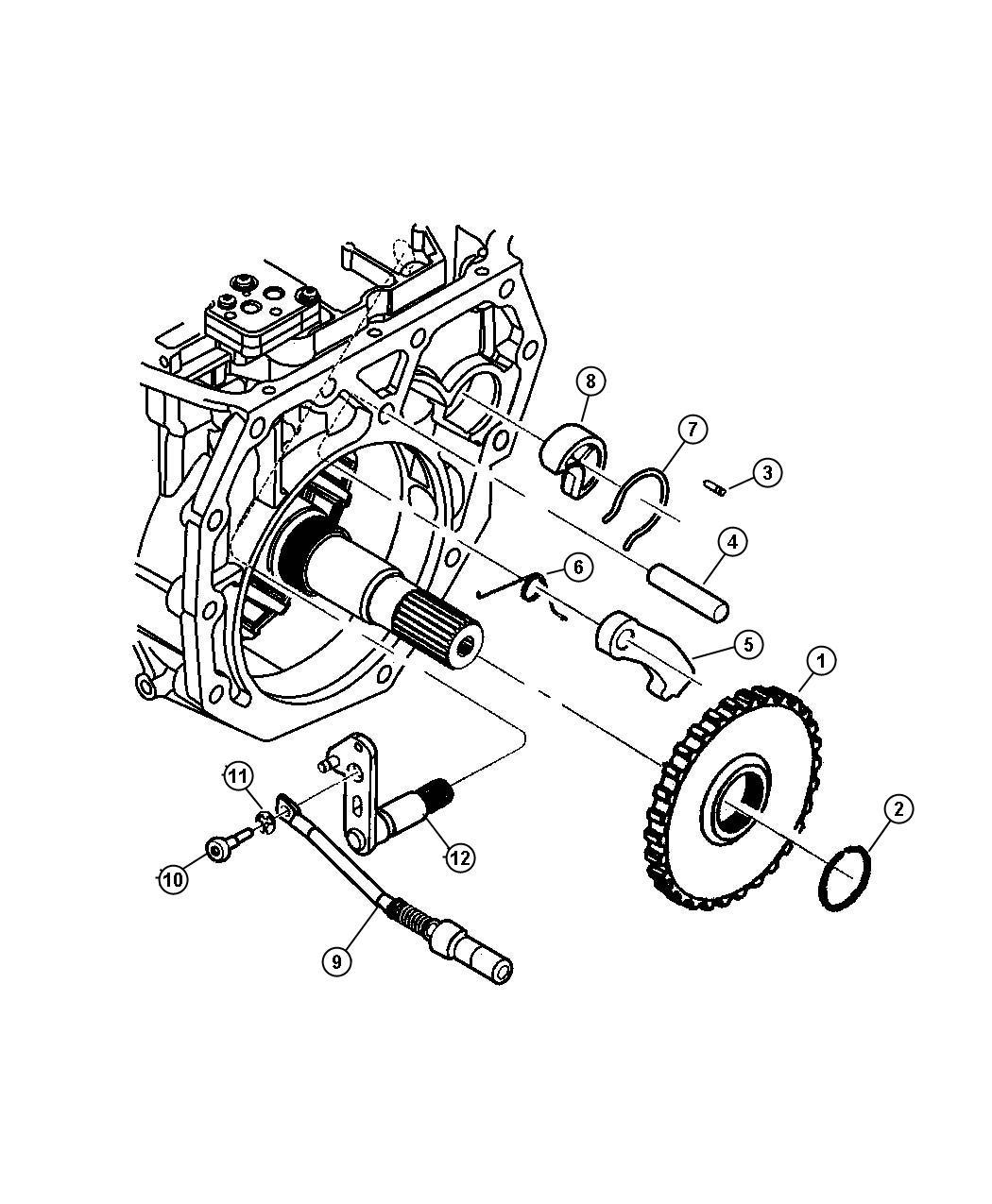 Jeep Grand Cherokee Screw M6x1x30
