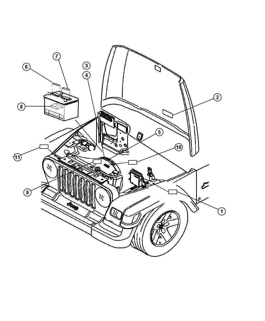 Jeep Wrangler 4 0 Engine Diagram