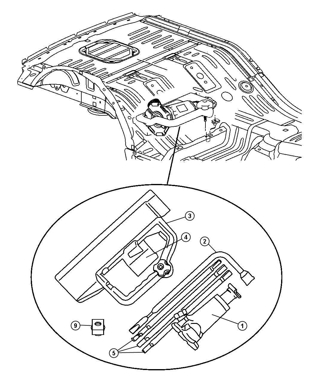 Jeep Grand Cherokee Rear Bumper Parts Diagram Html