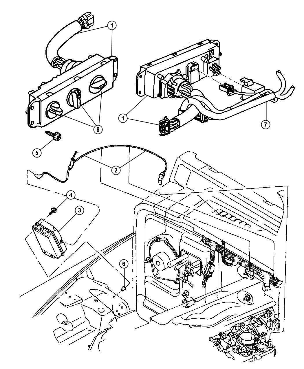 Jeep Wrangler Air Conditioning Diagram