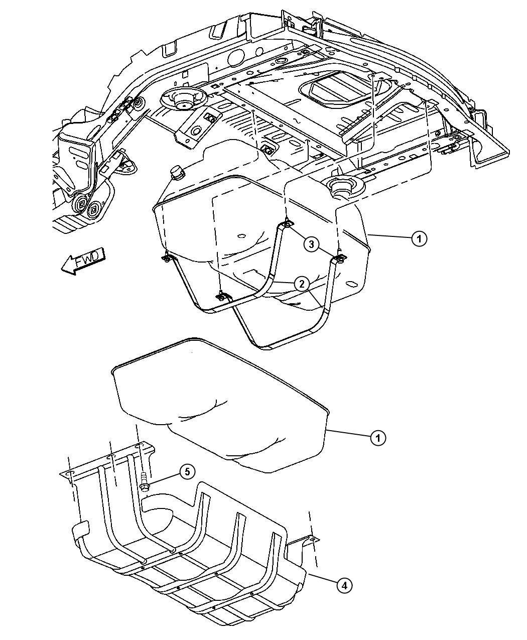 Jeep Liberty Filter Fuel Maintenance