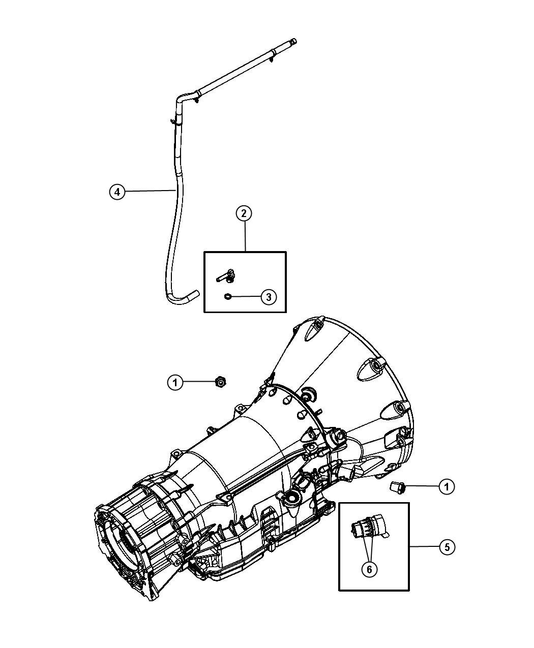 Jeep Grand Cherokee Tube Vent Use Before Build Date 05