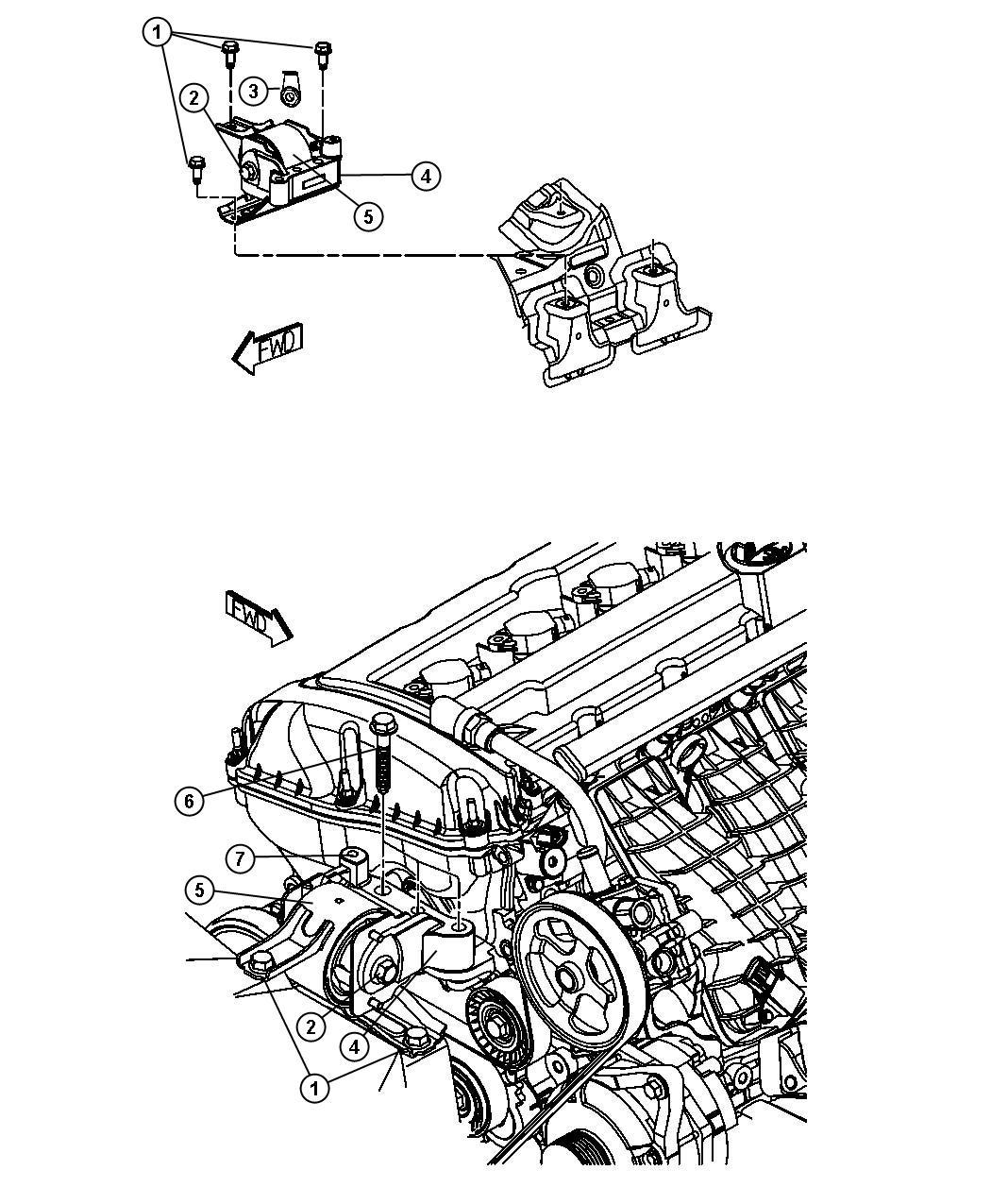 Jeep Patriot Bolt Screw Hex Flange Head M12x1 50x110 00