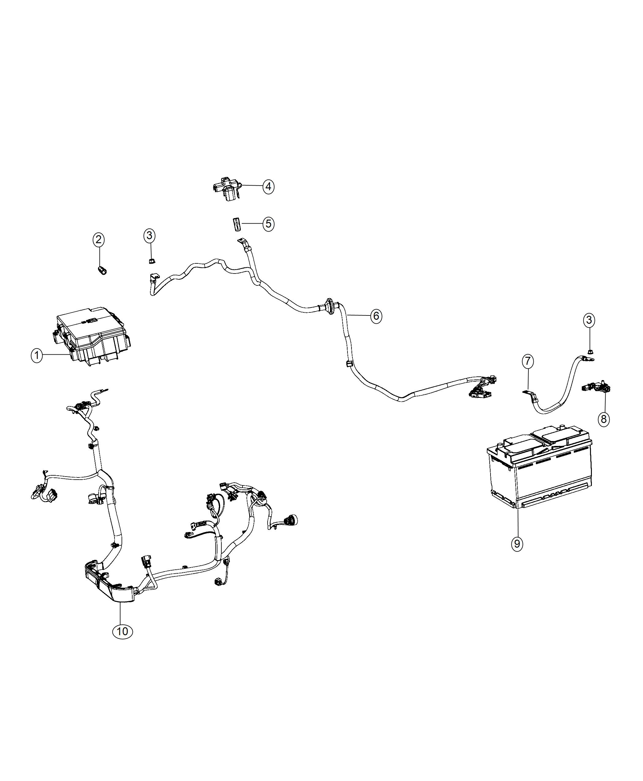 Jeep Grand Cherokee Wiring Battery Negative Stop
