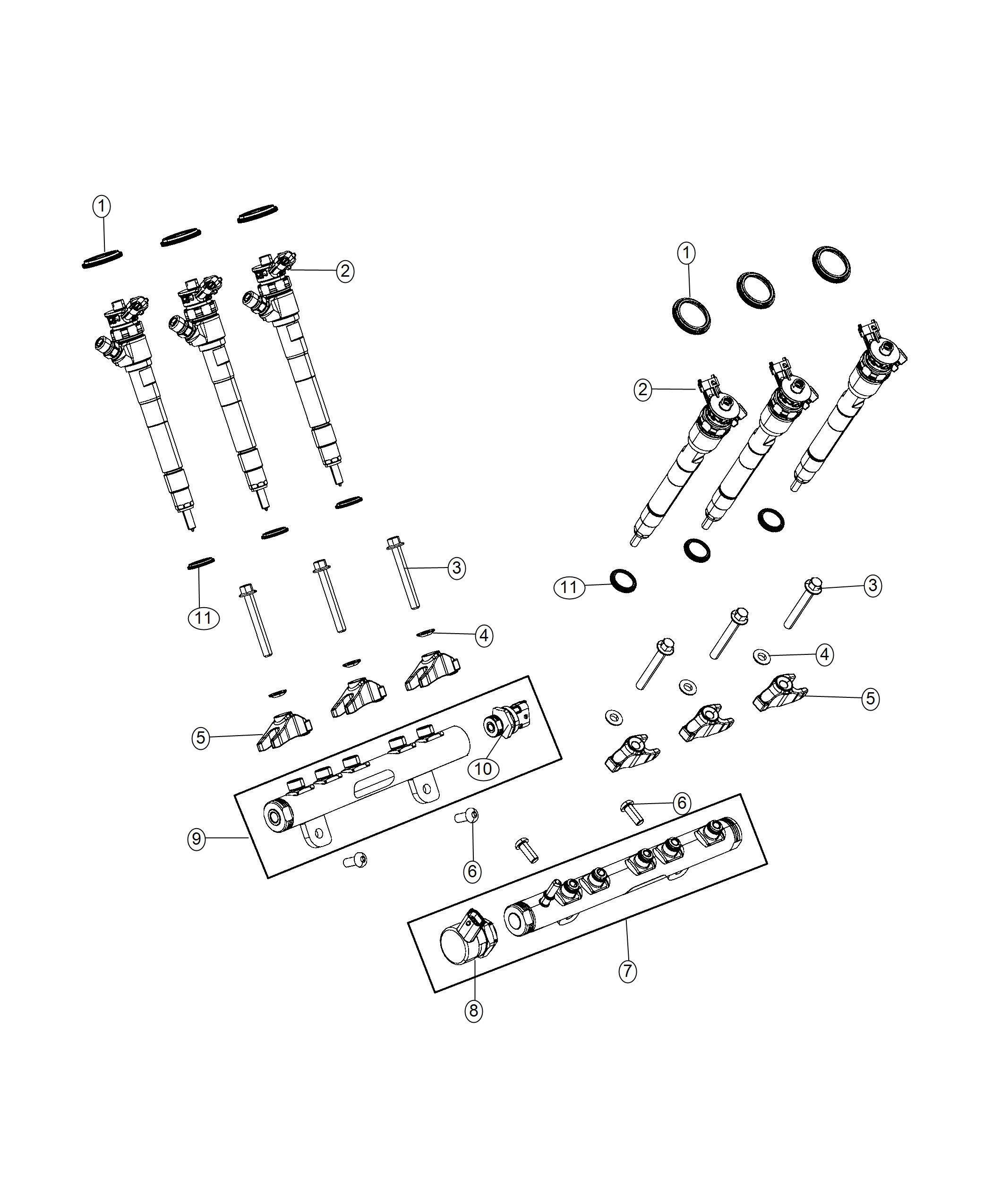 Jeep Grand Cherokee Sensor Fuel Pressure Emissions