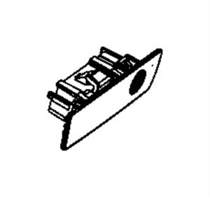 5JM55ZJ8AC  Jeep Latch Glovebox door [jj], [jj], with [8 speakers] sales code, export | Jeep