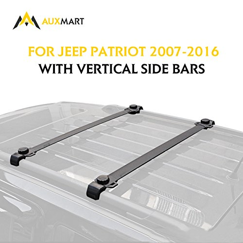 Auxmart Roof Rack Cross Bars Fit For Jeep Patriot 2007