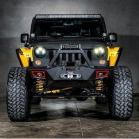 JeepWranglerOutpost.com Custom Yellow Black Jeep