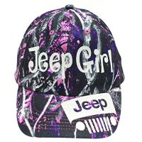 Muddy Girl Jeep Girl Trucker Style Cap Hat