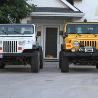 Jeep Wrangler TJ vs YJ Comparo