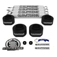 """Supreme Suspensions - Jeep Wrangler TJ 2"""" Leveling Kit Includes Shocks"""