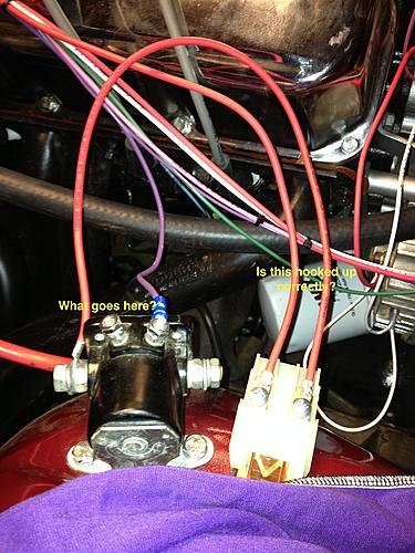 Wiring Harness Questions