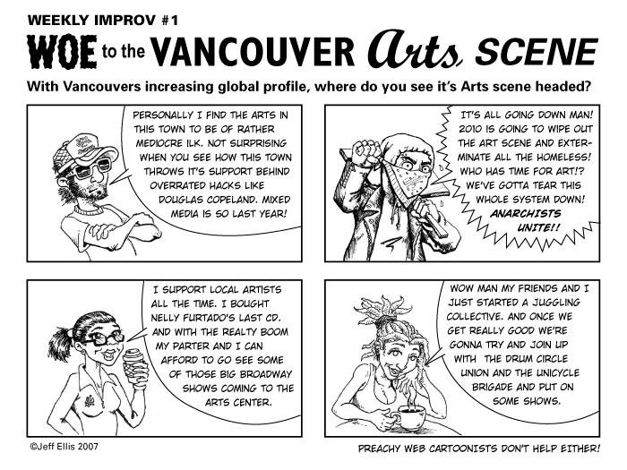 Woe to the Vancouver Arts Scene