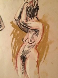Life Drawing pose 02