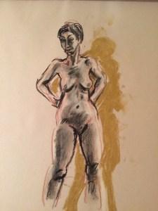 Life Drawing pose 03
