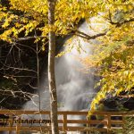New England photography of Moss Glen Falls in Autumn
