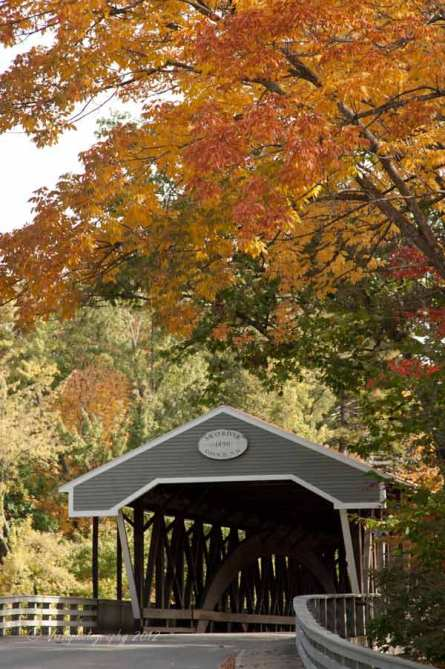 Saco river covered bridge