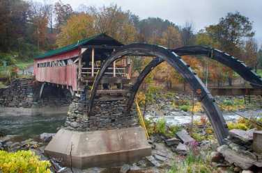 Taftsville covered bridge