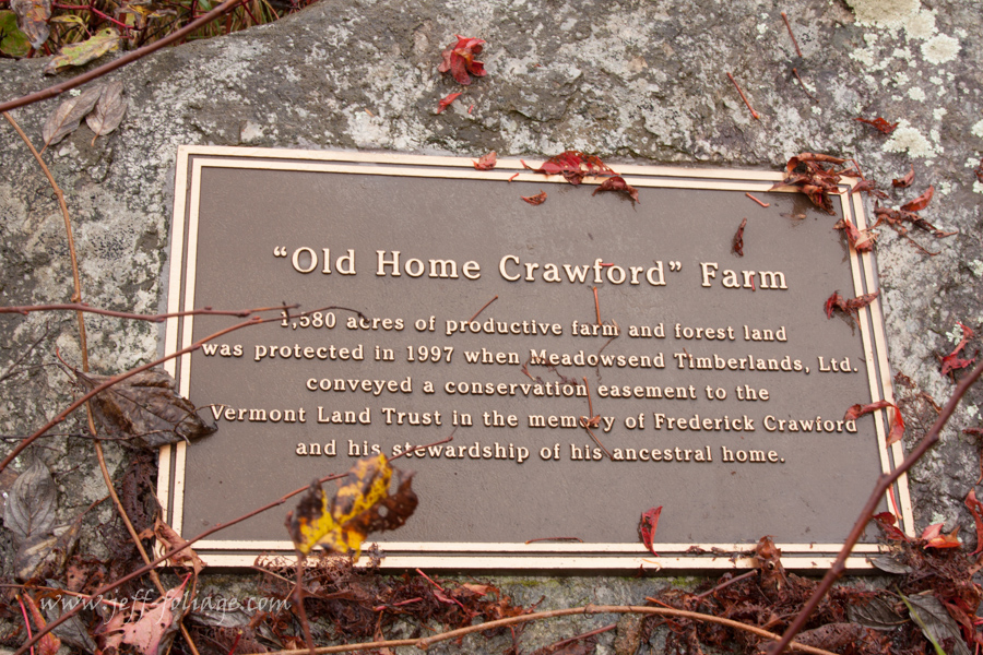 """The Guildhall Old """"Crawford Home"""" marker"""