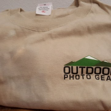 outdoor photo tshirt
