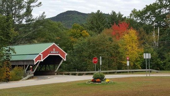 Jackson covered bridge New Hampshire