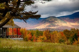 sunlight on Mount Chocorua