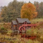 New England Photography of the Guildhall Gristmill