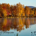 Rangeley Inn Maine fall colors