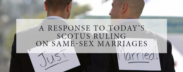A Response To SCOTUS