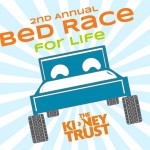 Logo: Bed Race for Life