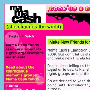 Mama Cash Campaign 88 Days
