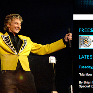 Official Barry Manilow Website