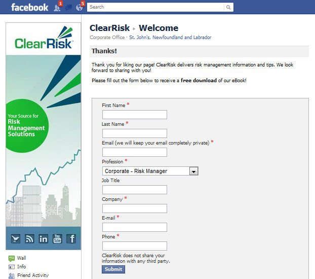 Facebook Marketing B2B Email Acquisition