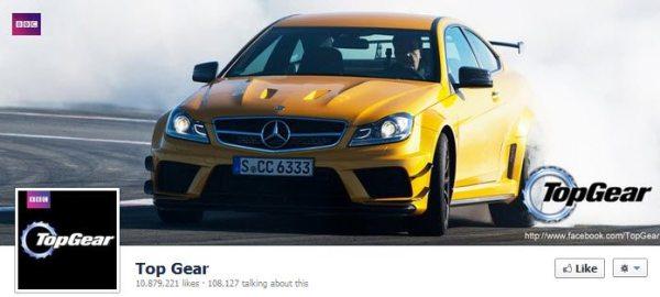 Facebook Top Gear