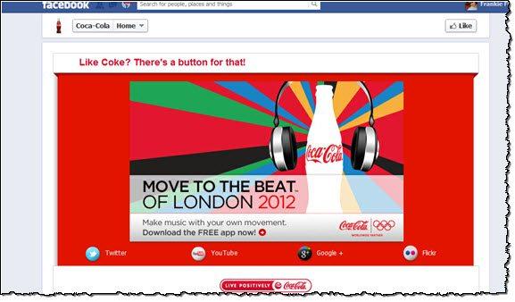 Coca Cola Facebook Bribe