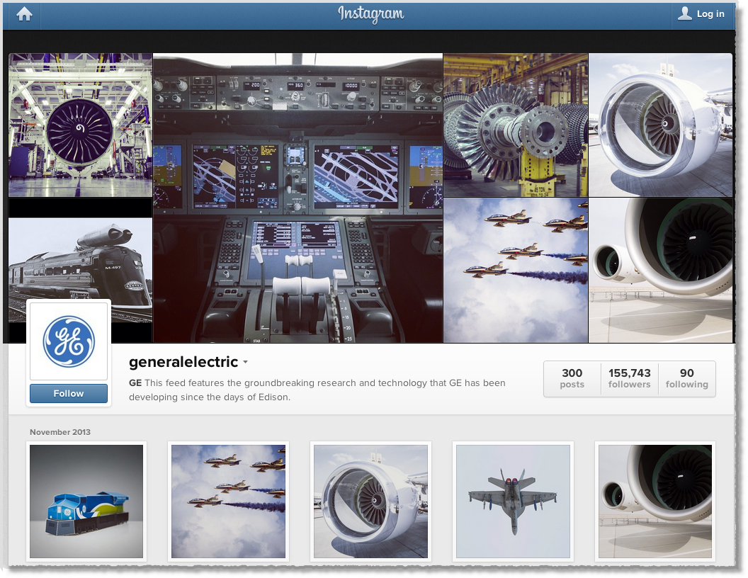 GE Instagram
