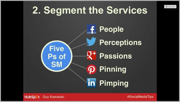 Segment services for social media success